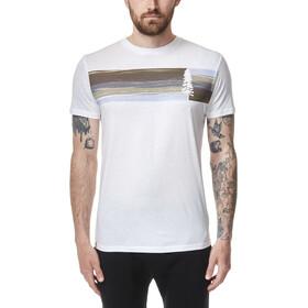 tentree Spruce Stripe T-Shirt Men, blanc